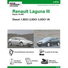 e-RTA Renault Laguna III Diesel
