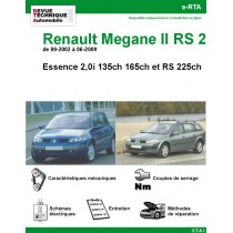 e-RTA Renault Mégane II Essence 2,0i et RS225