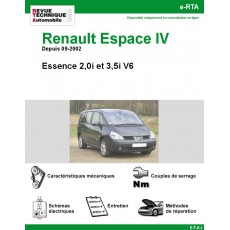 e-RTA Renault Espace IV Essence 2,0i et V6 3,5