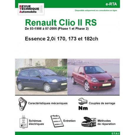 e-RTA Renault Clio II RS