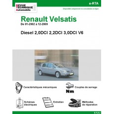 e-RTA Renault Velsatis Diesel