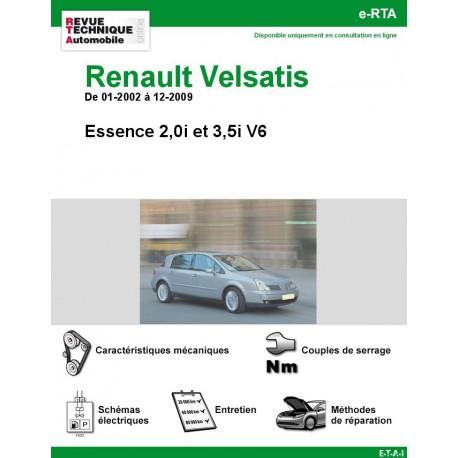 e-RTA Renault Velsatis Essence