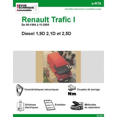 e-RTA Renault Trafic I Diesel