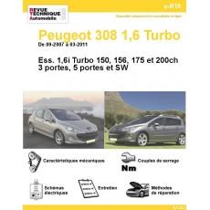 e-RTA Peugeot 308 1,6 Turbo et GTI