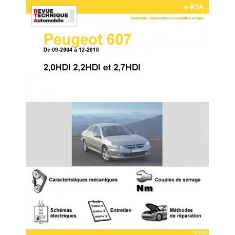 e-RTA Peugeot 607 Diesel