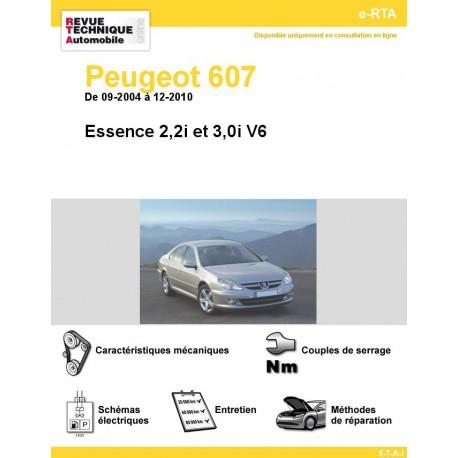 e-RTA Peugeot 607 Essence