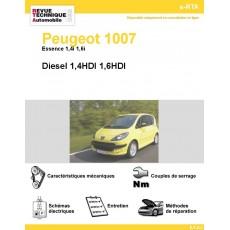 e-RTA Peugeot 1007 Essence et Diesel