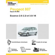 e-RTA Peugeot 807 Essence