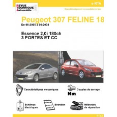 Revue Technique Automobile Peugeot 307 Féline 180 Essence