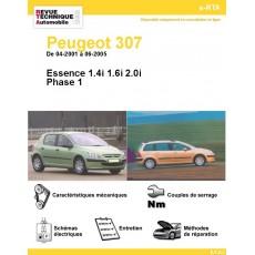 e-RTA Peugeot 307 Essence - De 04-2001 à 06-2005