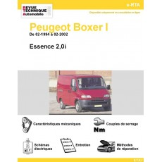 e-RTA Peugeot Boxer I Essence (De 02-1994 à 02-2002)