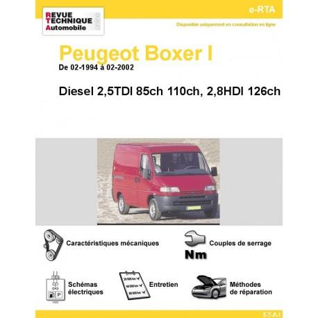 e-RTA Peugeot Boxer I Diesel (De 02-1994 à 02-2002)