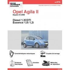 e-RTA Opel Agila II Essence et Diesel (Depuis 03-2008)