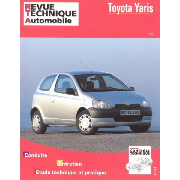 Revue Technique Toyota yaris essence