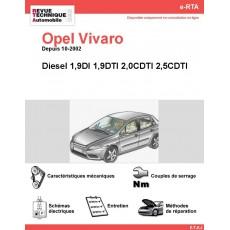 e-RTA Opel Vivaro Diesel