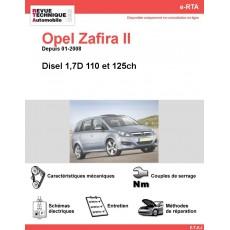 e-RTA Opel Zafira II Diesel (Phase 2 Depuis 01-2008)