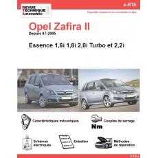 e-RTA Opel Zafira II Essence (Depuis 07-2005)