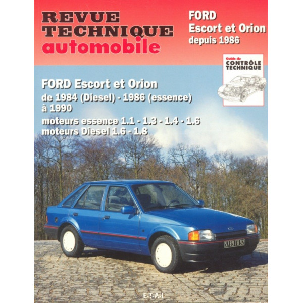 Revue Technique Ford escort