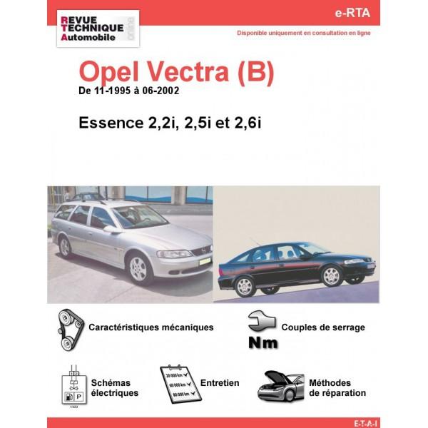 e-RTA Opel Vectra (B) Essence (11-1995 à 06-2002)