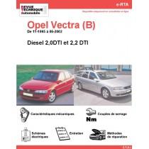 e-RTA Opel Vectra (B) Diesel (11-1995 à 06-2002)