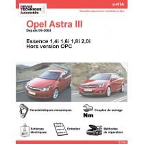 e-RTA Opel Astra III Essence (Depuis 09-2004)