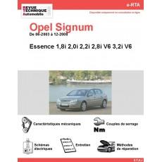 e-RTA Opel Signum Essence