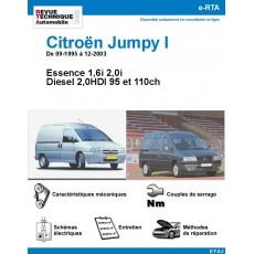 e-RTA Citroën JUMPY I Essence et Diesel 2.0HDI - De 09-1995 à 12-2003