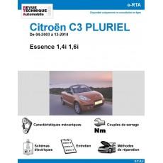 e-RTA Citroën C3 Pluriel de 04-2003 à 10-2012