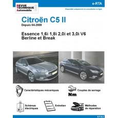 e-RTA Citroën C5 II Essence 1,6i 1,8i 2,0i et 3,0i V6 - Depuis 04-2008