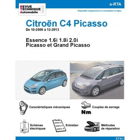 e-RTA Citroën C4 Picasso I Essence - De 10-2006 à 12-2013