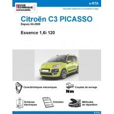 e-RTA Citroën C3 Picasso Essence depuis 04-2009