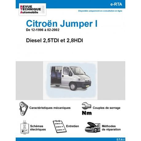 e-RTA Citroën Jumper I - Diesel 2,5TDI et 2,8HDI -De 12-1996 à 02-2002