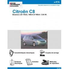 e-RTA Citroën C8 Essence 2,0i et V6
