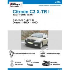 e-RTA Citroën C3 X-TR I Essence et Diesel