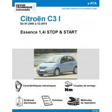 e-RTA Citroën C3 I STOP & START de 01-2005 à 12-2010