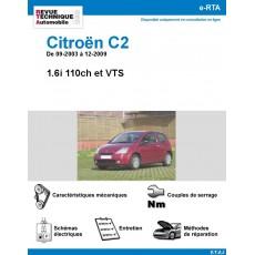 e-RTA Citroën C2 VTS et 1,6i 110ch