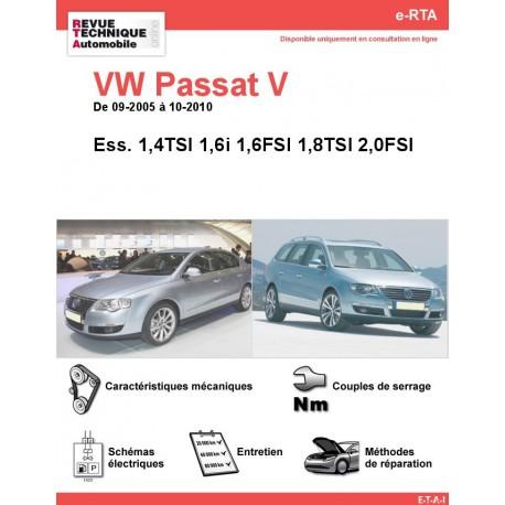 e-RTA Volkswagen Passat V Essence (09-2005 à 10-2010)