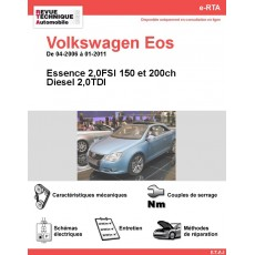 e-RTA Volkswagen Eos Essence et Diesel (04-2006 à 01-2011)