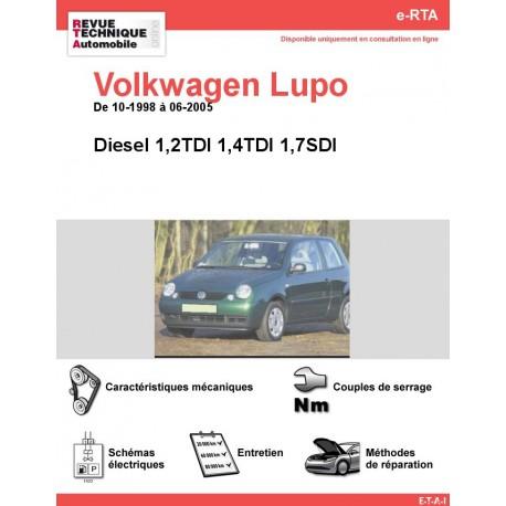 e-RTA Volkwagen Lupo Diesel (10-1998 à 06-2005)