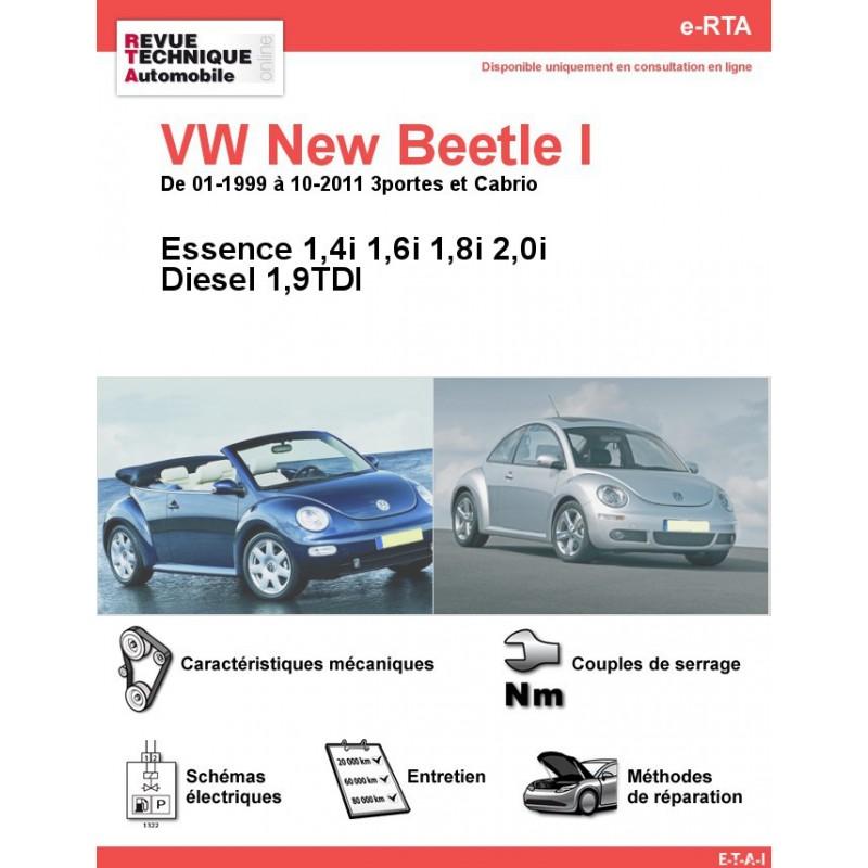revue technique volkswagen new beetle i essence 1et diesel rta site officiel etai. Black Bedroom Furniture Sets. Home Design Ideas