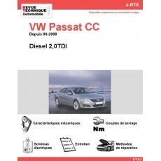 e-RTA Volkswagen Passat CC Diesel 2,0TDI