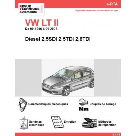e-RTA Volkswagen LT II Diesel (09-1996 à 01-2002)