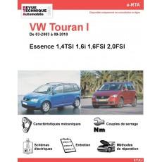 e-RTA Volkswagen Touran I Essence (03-2003 à 09-2010)