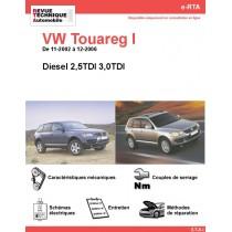 e-RTA Volkswagen Touareg I Diesel (11-2002 à 12-2006)