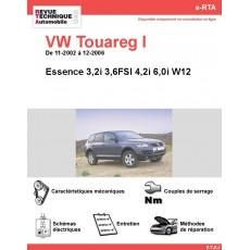 e-RTA Volkswagen Touareg I Essence (11-2002 à 12-2006)