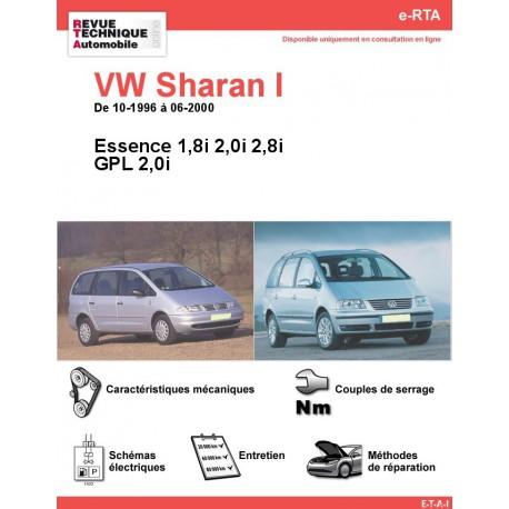 e-RTA Volkswagen Sharan I Essence (10-1996 à 06-2000)