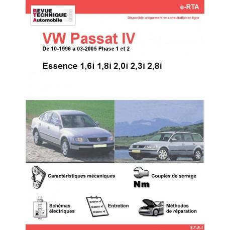 e-RTA Volkswagen Passat IV Essence (10-1996 à 09-2005)