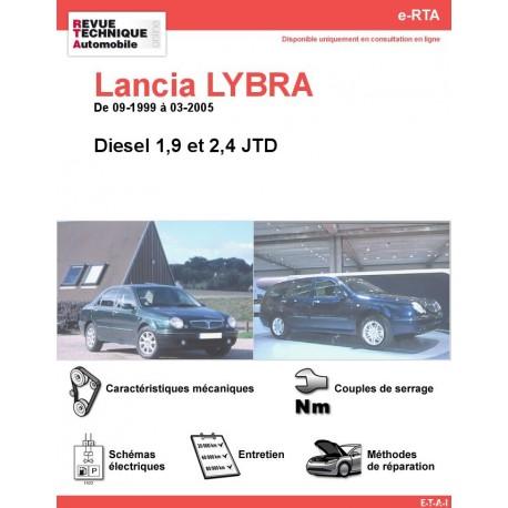 e-RTA Lancia LYBRA Diesel (09-1999 à 03-2005)