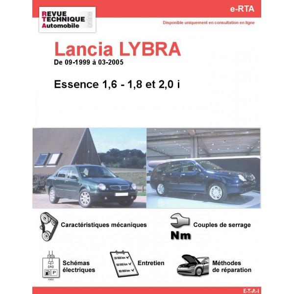 e-RTA Lancia LYBRA Essence (09-1999 à 03-2005)