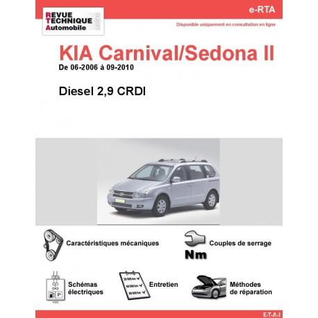 e-RTA KIA Carnival/Sedona II Diesel (06-2006 à 09-2010)